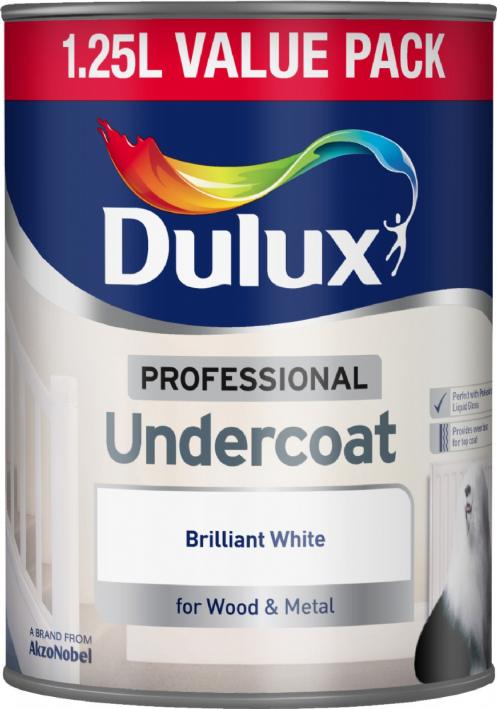 Dulux Professional Undercoat Brilliant White
